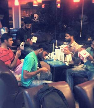 parel team at coffee cube